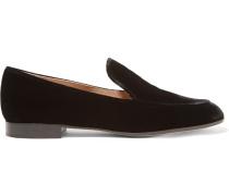 Loafers aus Samt