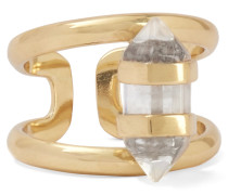 Charmed Vereter Ring Mit Quarz