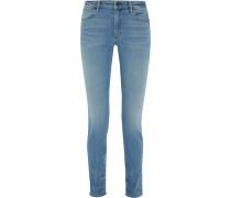 Wang 001 hochsitzende Skinny Jeans