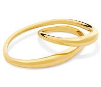Heart In  Getauchter Zwei-finger-ring