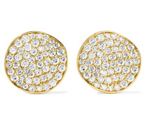 Glamazon® Stardust Flower Ohrringe Aus 18 Karat  Mit Diamanten