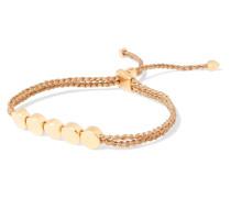 Linear Bead Geflochtenes Armband Mit -vermeil