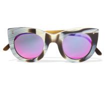 Boca Ii Verspiegelte Sonnenbrille Mit Cat-eye-rahmen Aus Azetat -