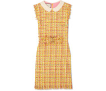 Minikleid Aus Tweed Mit Fransen -