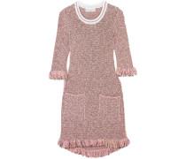 Paillettenverziertes Minikleid Aus Tweed Aus Einer Baumwollmischung -