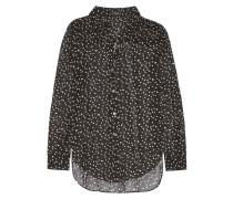 Sunaya Bedruckte Bluse Aus Seidenchiffon - Schwarz