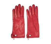 Verzierte Lederhandschuhe