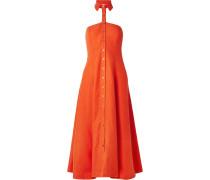 Veronique Neckholder-kleid Aus Einer Tencel®-leinenmischung -