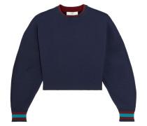 Verkürztes Sweatshirt Aus Stretch-jersey -