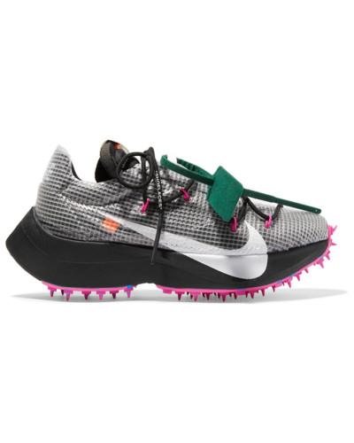 + Off-white Vapor Street Sneakers aus Ripstop, Veloursleder, Mesh und Gummi