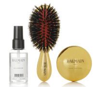 Spa Brush Set – farbenes Haarpflegeset