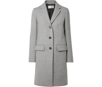 Amutto Mantel Aus Woll-twill -
