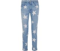 The Skinny Bedruckte Boyfriend-jeans -