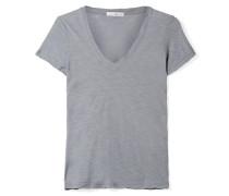 Casual T-shirt aus Supima®-baumwoll-jersey