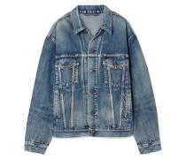Like A Man Oversized-jeansjacke mit Print -