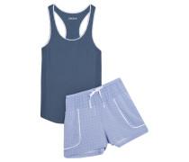The Lineup Pyjama Aus Einer Baumwollmischung -