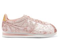 Classic Cortez Sneakers Aus Samt In Knitteroptik -