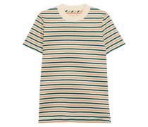 T-shirt Aus Gestreifter Baumwolle -