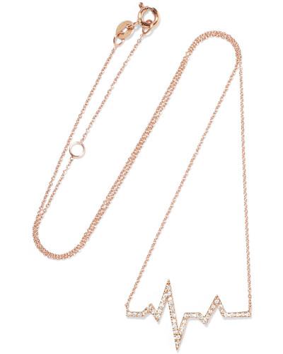 Heartbeat Kette aus 18 Karat  mit Diamanten