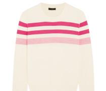 Pullover aus Merinowolle mit Streifen