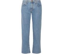The Original Straight Hoch Sitzende Jeans -