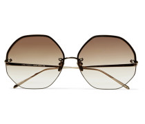 Verete Sonnenbrille Mit Achteckigem Rahmen
