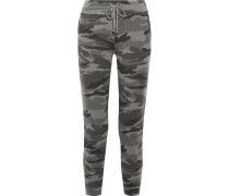 Jogginghose Aus Frottee Mit Camouflage-print -