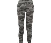 Jogginghose Aus Stretch-jersey Mit Camouflage-print -