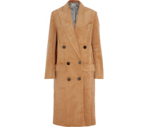 Acrefield doppelreihiger Mantel aus Cord