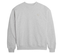 Yana Sweatshirt Aus Baumwoll-jersey Mit Applikation -