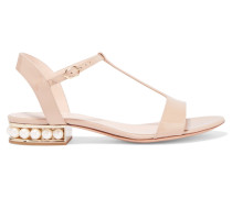 Casati Verzierte Sandalen Aus Lackleder -