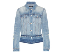 Deena Jeansjacke In Distressed-optik -