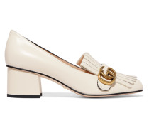 Marmont Loafers Aus Leder Mit Haferlasche -