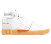 Tubular Invader High-top-sneakers Aus Strukturiertem Leder Und Veloursleder -