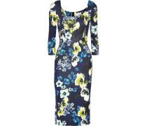 Tess Kleid Aus Stretch-ponte Mit Floralem Print -