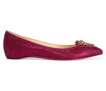 Coramia Flache Schuhe Mit Glitter-finish Und Verzierungen -