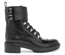Ranger Ankle Boots aus Leder mit Logoprägung -