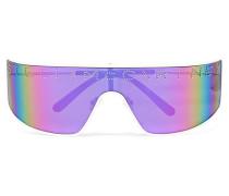 Shield Verspiegelte Sonnenbrille