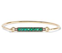 Armband Aus 18 Karat  Mit Smaragden Und Diamanten