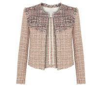 Walefa Jacke Aus Tweed Aus Einer Baumwollmischung Mit Fransen -