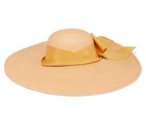 Lady Ibiza Hut aus Toquilla-stroh mit Schleifenverzierung -