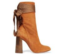 Harper Ankle Boots Aus Veloursleder -