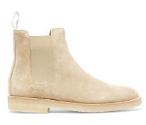 Chelsea Boots aus Veloursleder -