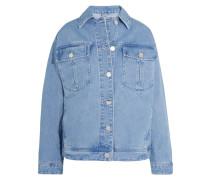 Rushmore Oversized-jeansjacke Mit Perlen - Heller Denim