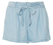 Shorts aus Tencel®-Chambray