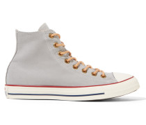 Chuck Taylor High-top-sneakers Aus Canvas - Hellgrau