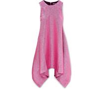 Drapiertes Minikleid Aus Lurex® -