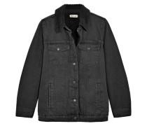 Jacke aus Denim in Oversized-passform -
