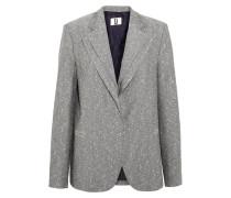Mehrlagiger Tweed-blazer Aus Einer Wollmischung -