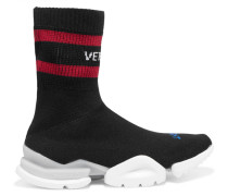 + Reebok Sock Sneakers Aus Stretch-strick -